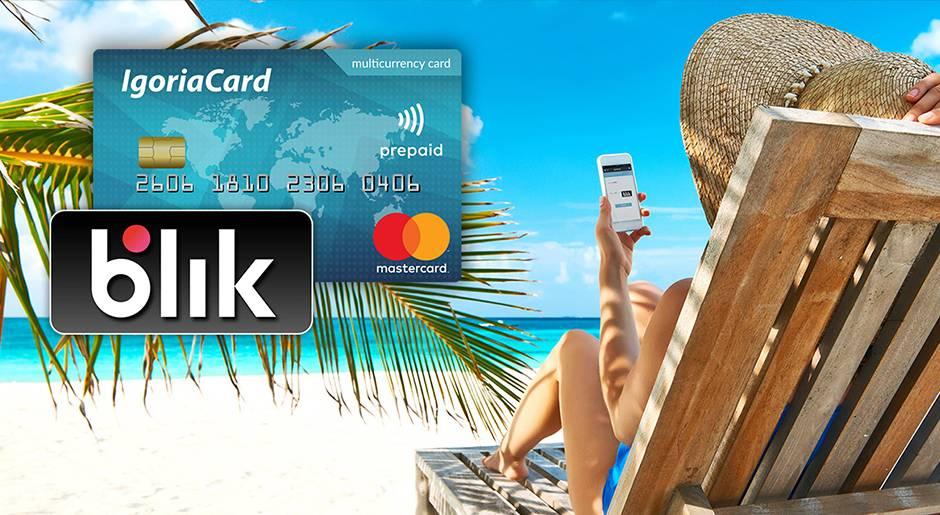Szybkie doładowanie Blik w karty wielowalutowej Mastercard