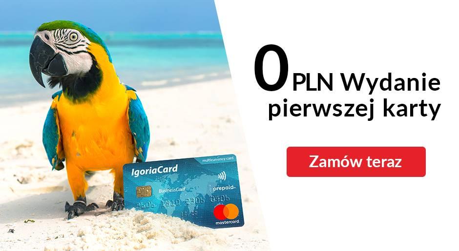 Promo pierwsza karta za 0 PLN